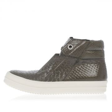 Sneakers Alta ISLAND DUNK in Pitone