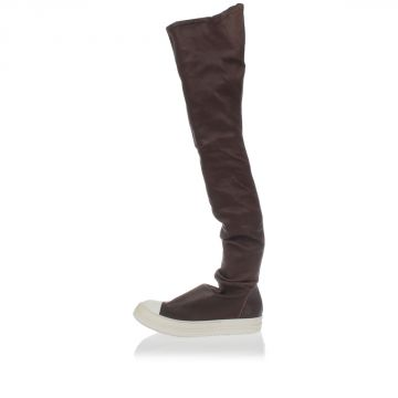 Leather THIGH HIGH RAMONES Boots