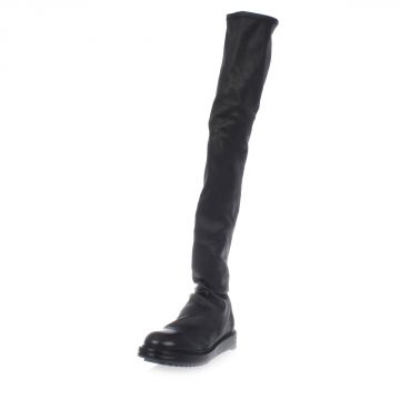 Stivale Alto THIGH HIGH PULL ON in Pelle