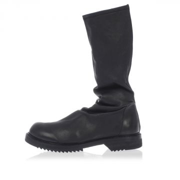 Leather CREEPER STRETCH Boots