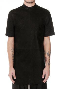 T-Shirt MOODY manica corta in pelle