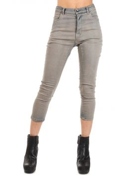 DRKSHDW Jeans TERRENCE CROPPED MINERAL DUST in Denim 14 cm