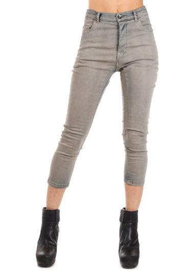 DRKSHDW Denim TERRENCE CROPPED MINERAL DUST Jeans 14 cm