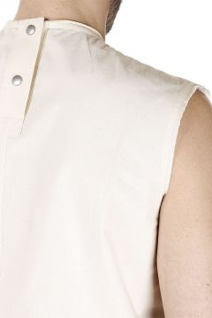 Maglia TOP SLEEVELESS CYCLOPS Natural