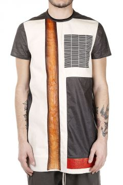 Cotton and Snake Leather GRAPHIC T-shirt