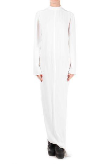 Silk Blend MOODY LS Milk Dress