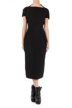 DAGGER CALPURNIA Blk Dress