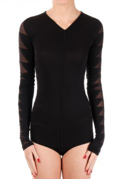 Long Sleeves Blk Body