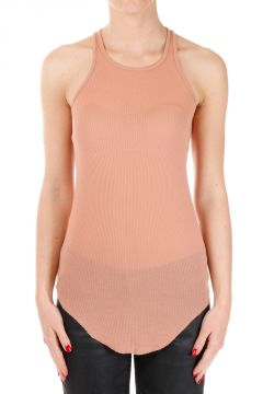 Silk Blend BASIC RIB TANK Rosebud Top