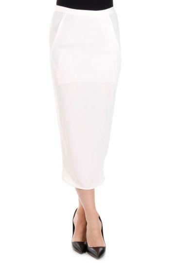 SOFT PILLAR SBORT Milk Skirt