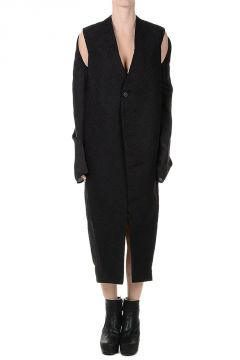 Cappotto SLING COAT in Misto seta