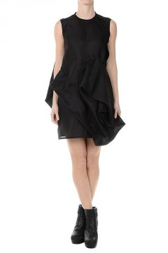 Silk CANDY TUNIC Dress BLK/BLK