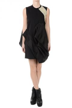 Cotton CANDY TUNIC Dress BLK/ALMOND