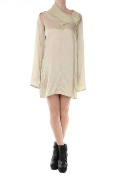 MOBIUS Tunic Dress ALMOND