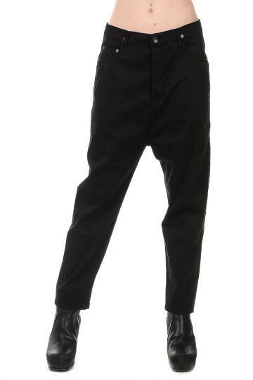 DRKSHDW Pantaloni ASTAIR CROPPED in Cotone Stretch
