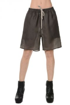 Pantaloni Shorts in Seta