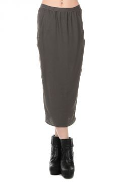 Cotton Stretch Skirt