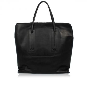 Leather JUMBO SLIM Bag