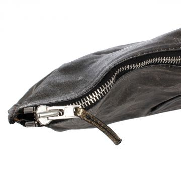 Leather PORTFOLIO Bag Black Platinum