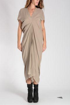 Silk LOABSTER Maxi Dress PEARL
