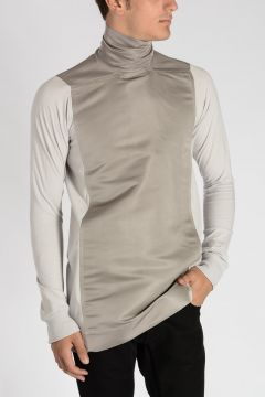 Cotton & Silk TABARD T-Shirt ICE