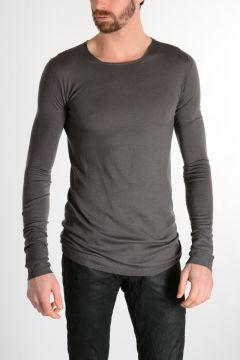 Merino Wool  ROUND NECK Sweater DARK DUST