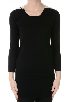 3/4 Sleeves Virgin Wool Sweater