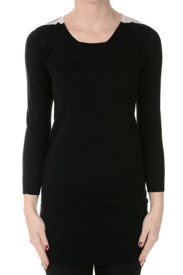 3/4 Sleeves Virgin Wool Sweater