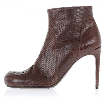 Python SPIKE Ankle Boot 10 cm Blood