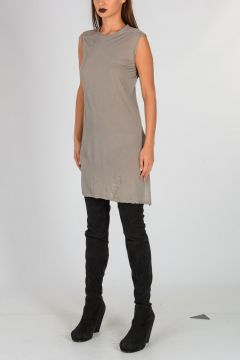 DRKSHDW Cotton COLUMN TUNIC Sleeveless Dress