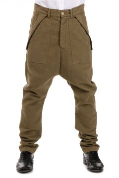 DRKSHDW Pantaloni CARGO TROUSERS in Cotone