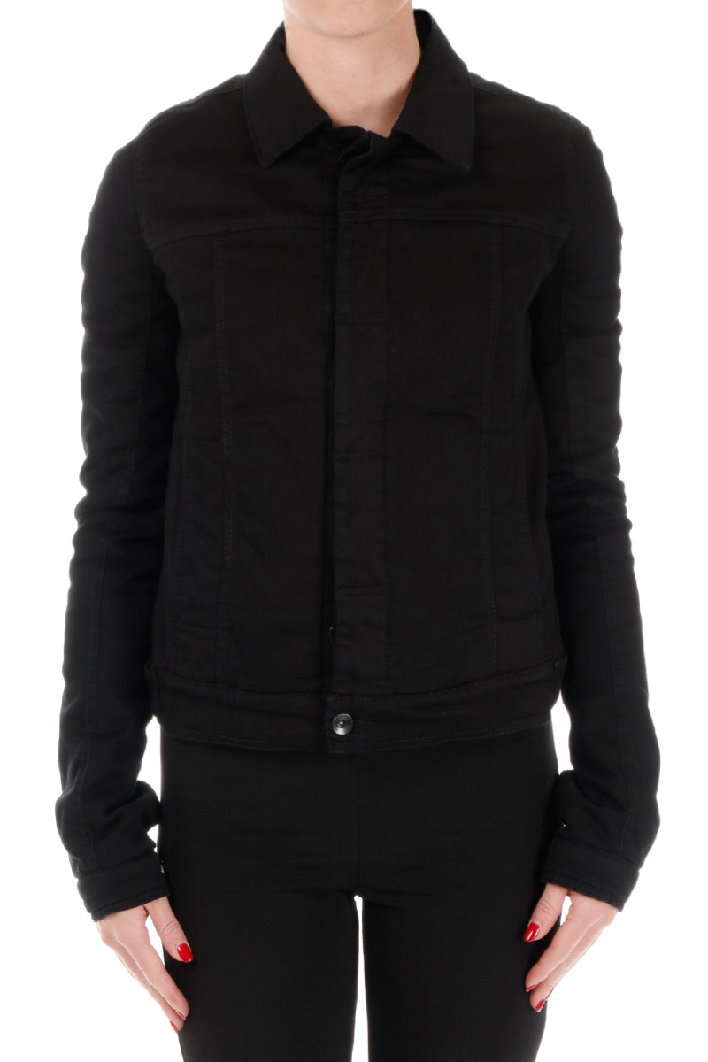 DRKSHDW Cotton WORKER Jacket Black Inside
