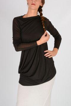 LILIES T-shirt Asimmetrica