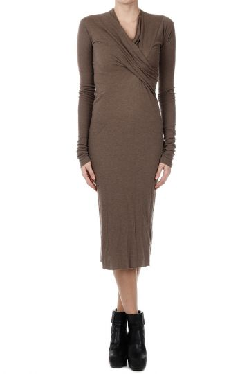 LILIES Vestito WRAP DRESS DNA DUST