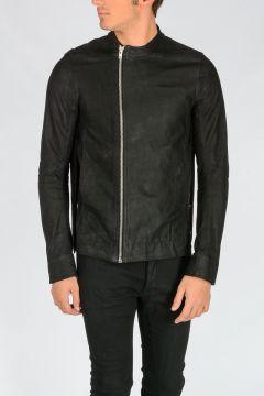 Leather MOODY BIKER SPLIT Jacket