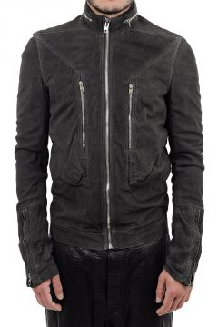 Leather VICIOUS BOMBER Jacket
