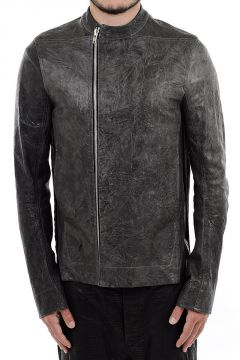 MOODY BIKER SPLIT TUBE RACER Leather Jacket