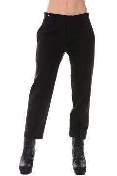 Virgin Wool Stretch STICK CROPPED Pants