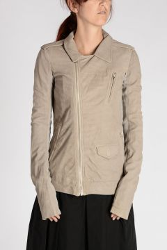 Leather LONG STOOGES Jacket