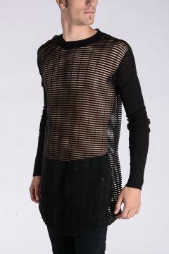 BIKER LUPETTO GEO1 Virgin Wool Sweater