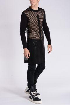 BIKER LUPETTO GEO2 Virgin Wool Sweater