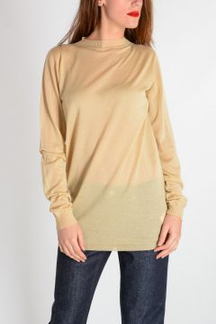 Cashmere LEVEL ROUND NECK Sweater BONE