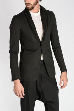 Cotton TUX COLLAR Blazer
