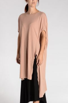 DRKSHDW Top SHROUD TEE in Cotone ROSE