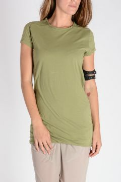 DRKSHDW T-shirt DOUBLE TEE In cotone LimoGreen