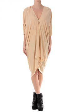 DRKSHDW Cotton Tunic Dress KITE