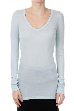 DRKSHDW T-shirt RIB V NECK in Cotone