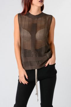 Cotton Blend BIKER GEO 2 Top