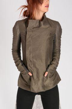 Cotton & Silk EILEEN JKT DARKDUST