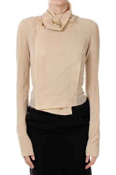 Silk CLEAN BIKER Jacket  BONE